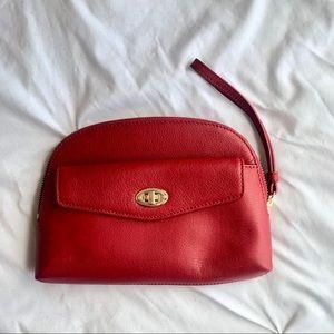 Talbots red purse